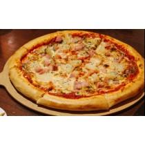 9吋手工Pizza - 蝦仁夏威夷