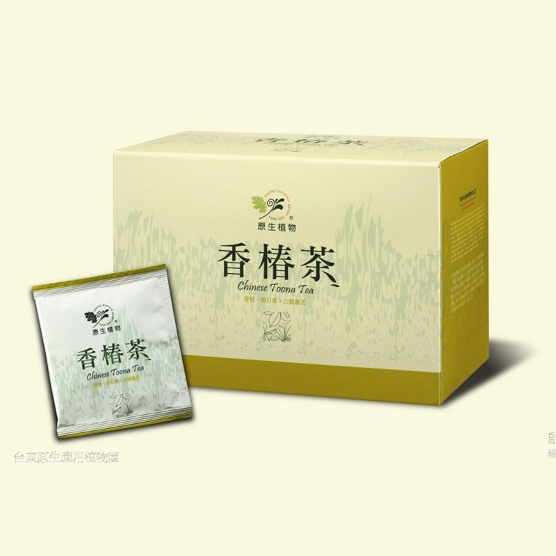 【台東原生應用植物園】1盒-日常保養!香椿茶
