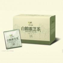 【台東原生應用植物園】40盒 有機認證!白鶴靈芝茶